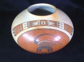 Dextra Quotskuyva Nampeyo Hopi Pot