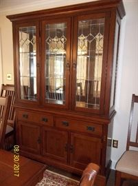 matching china hutch