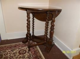 drop-leaf gate-leg table
