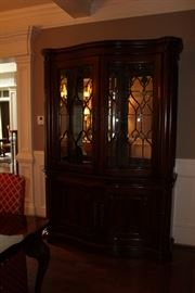 Lighted china cabinet (made in USA)