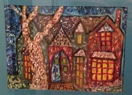 Original Thom Bierdz painting.