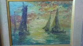 Henry Dzienczarski Oil Painting
