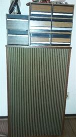 Large vintage Bozak floor speakers