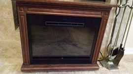 Heater - faux fireplace