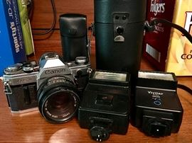 35 mil camera and accessories