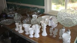 A few of the glass pieces