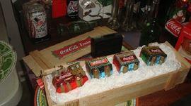 blown Coke ornaments