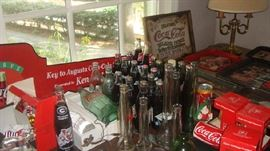 only some of the Coke items