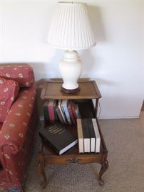 Vintage step-down End Table