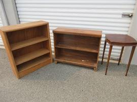 Zangerle Table and Bookshelves