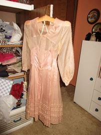 Some vintage clothing