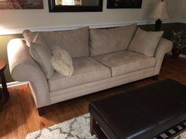 Micro fiber couch  Family Heritage Estate Sales, LLC New Jersey Estate Sales / Pennsylvania Estate Sales