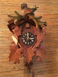 Antique Wall Hanging Coo Coo Clock. Family Heritage Estate Sales, LLC. New Jersey Estate Sales/ Pennsylvania Estate Sales.