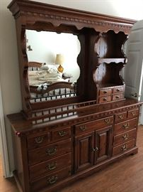 Great Knotty Pine Chest with Top