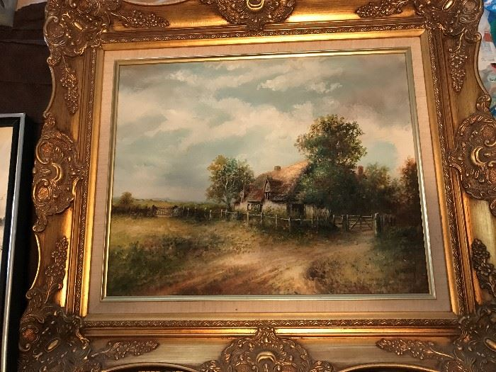 Beautiful Antique Oil Painting