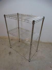 3- Shelve Metal Rack