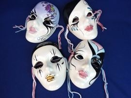 4 - Hand Crafted Masque mask