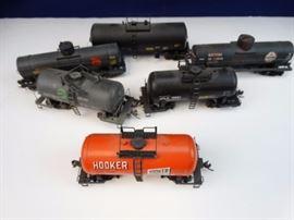6 - Tanker cars