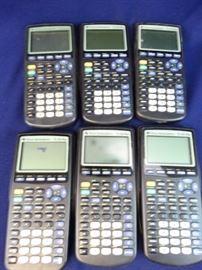 6- TI-83 Plus Calculators