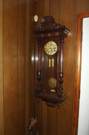 One of several clocks in the house.