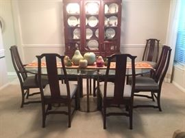 Dinning room set 8 chairs  and China Cabinet