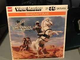 View Master reels- The Legend of the Lone Ranger