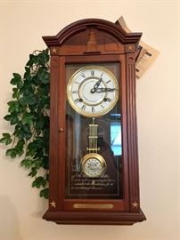Commemorative Centennial Wall Clock