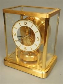 Lot 7 JAEGER LE COULTRE Swiss Brass ATMOS Clock. Swiss