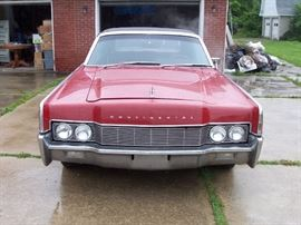 1967 Lincoln Convertible - 79,000 miles