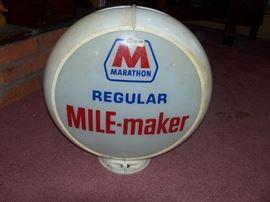 Marathon Gas Globe