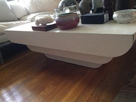Karl Springer Style Table.