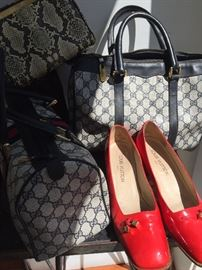 Vuitton Shoes and Gucci Bags