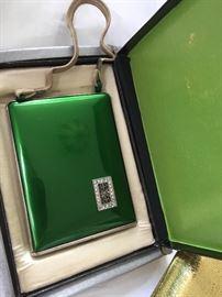 Vintage Compact purse in original box