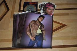 Michael Jackson memorabilia.