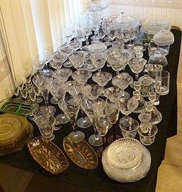 Fostoria Elegant glassware