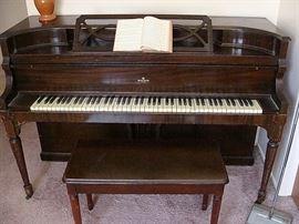 Nice console piano-$175.00!