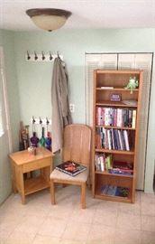 Five shelf book case