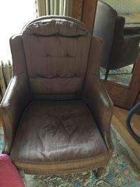 Silk livingroom chair