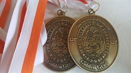 50 year Alumni Golden Grad Medals