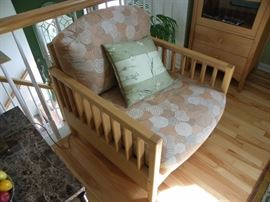 Pompanoosuc Hand made furniture living room chair.