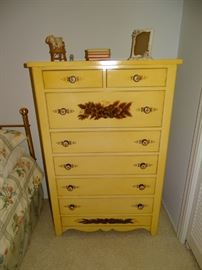 Hitchcock chest of drawers.