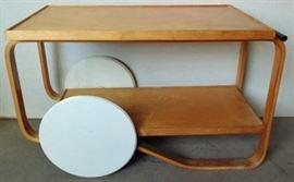 Alvar Aalto tea cart