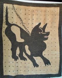 Early embroidered rug