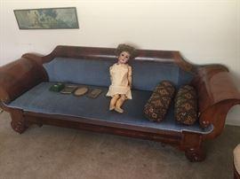 fabulous Biedermeier style sofa from 1840