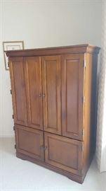 Maple armoire   $125