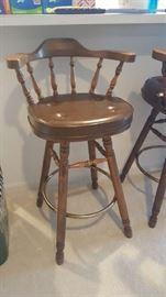 Swivel bar stool   $75