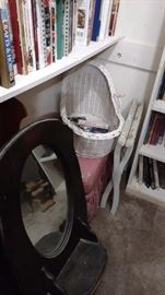 wicker bassinette