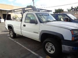 2003 Chevy 2500HD need oil pump & tags