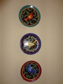 Accent Oriental by Susan Sargent plates