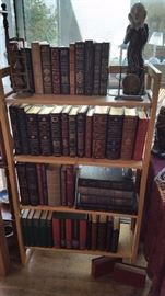 "Vintage ""Classics of Medicine Library"" book collection."
